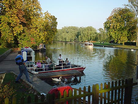 The River Avon Chain Ferry